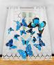 12x Plain Voile Curtain Panel Rod Pocket Net Slot Butterfly Nice Decorations