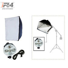"Continuous Photo Studio Video 5 Holder Tricolor Lighting 60*90cm(24""*35"")Softbox"