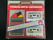 Traveler's german  Vintage 2 Sixty Minute Cassettes & Books! Everything to learn