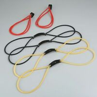Powerful Rubber Band Bungee Catapult Slingshot Sling Shot Hunting Tool 1/5/10PCS