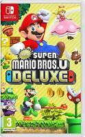 NEW Super Mario Bros. U Deluxe - Nintendo Switch (REGION FREE, EU)