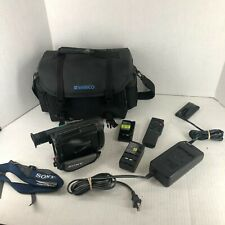 Sony CCD-TRV112 Camcorder Camera Recorder Video Transfer in Bag w/ Extras Tested