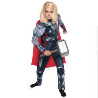 The Avengers War Thor Child Muscle Deluxe Costume Marvel Comics Marvel Superhero