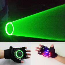 Green laser gloves Auto  Rotating Vortex hand dance club DJ rotary laser bar