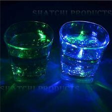 4xshatchi Flashing LED Glowing Cup Water Indutive Glass Halloween Party Novelty