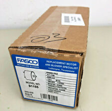 Fasco D1155 3.3-Inch Diameter Shaded Pole Motor, 1/100 HP, 115 Volts, NEW NIB