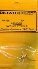 Details West 186 x HO Air Horn Nathan M3 Three Chime