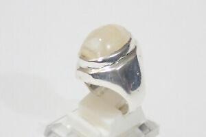 Mens Elephant Semen 100% natural Ring in 925 silver,