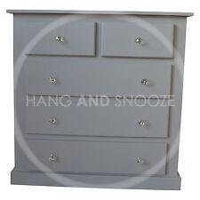 Handmade Dewsbury Furniture 2 3 Drawer Chest Grey Crystal(assembled