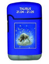 Gas Feuerzeug Easy Torch Turbo Flamme Sternzeichen Stier Taurus