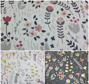 *NEW* Fryetts CLARA Floral Cotton Print Fabric.Upholstery/Curtains/Crafts