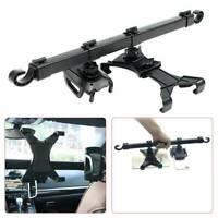 360° Rotating Car Seat Headrest Phone Holder Dual Mount For iPad Tablet Kits UK