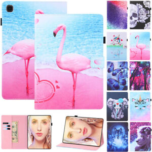 Leather Flip Stand Case Cover For Samsung Galaxy Tablet A A7 E 4 S6 Lite S7 Plus