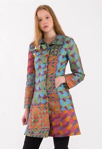 DESIGUAL Women's Coat Size 42 EU RRP: 229 EUR
