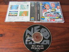 RALLY CHASE              --   ADCD-003     -----   pour SNK  NEO GEO CD / JAPAN