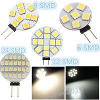 New 3W G4 5730 SMD 12 LED AC/DC 12V Spotlight Light Bulb Lamp Warm/Pure White