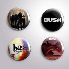 4 Bush - Pinbacks Badge Button Pin 25mm 1''
