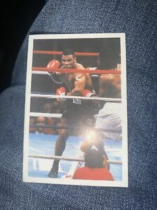 1986 Mike Tyson Rookie Card — A Question Of Sport Boxing — Excellent Condition
