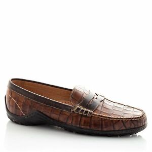 Martin Dingman Bill Leather Penny Loafers