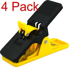 4 PACK YELLOW Cigar Minder Clip Holder Saver Golf Cart Boat Deck WE STOCK IT!