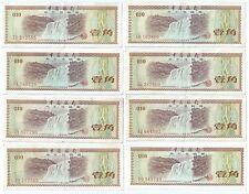 Banknote - Bank of China 10 Fen x8 pcs1979 China Foreign Exchange Cert (#101)