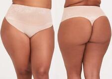 4X 26 New Torrid Beige High Waist 360 Smoothing Shaper Thong Panty Panties