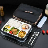 Insulated Lunch Bag Lunch Box Bento Container Thermal Portable Warmer Storage