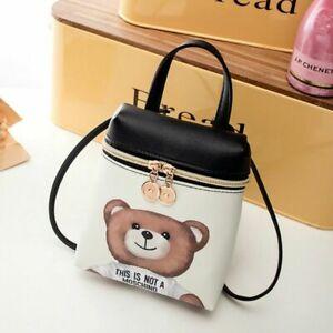 Cute Cross Body Messenger Bags Mini Bag Leather High Quality PU Women Cartoon