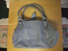 "Ladies Handbag Patrick Cox, grey leather, 14x10x6""+ handles, inner pockets 3129"