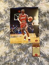 Michael Jordan Chicago Bulls Signed Autographed 8x10 Photo with COA