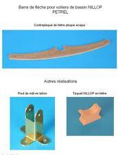 NILLOP Pétrel 75 cm -- Bateau voilier de bassin -- Reproduction barre de flèche