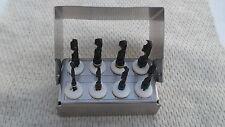 Taladros Quirúrgico Dental Conjunto de 8 Piezas Mini Kit, Kit de implante