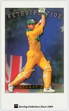 1996 Futera World Cup Cricket Trading Cards Retrospective AR7: Stuart Law