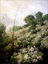 Wild Floral Blossom, Quality Hand Painted Oil Painting, 30x40in