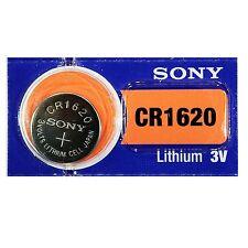 1x Pila Boton SONY CR1620 Batería Litio 3V