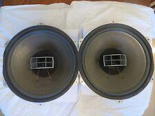 """Coaxial Pioneer PAX-381 15"""" woofers & horn tweeter from Pioneer CS-901 speakers"""
