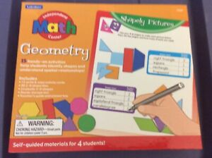 New Lakeshore Independent Math Center Geometry Materials For Four Students
