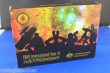 Royal Australian Mint 2009 Six Coin Proof Set International Year of Astronomy