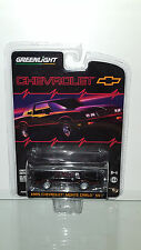 1/64 GREENLIGHT CHEVROLET 1985 CHEVY MONTE CARLO SS BLACK W/RED STRIPE B25