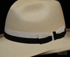 Hat band 69 -BiStripe Black - Men Ladies Sun Panama Hat fedora Replacement strap