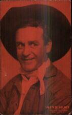 Cowboy Actor Vintage Arcade Exhibit Card PEE WEE HOLMES