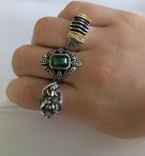 Lot Of 3 Vintage/Modern Costume Jewelry Rings Variety Sz 8 - 2 Avon 1 PL