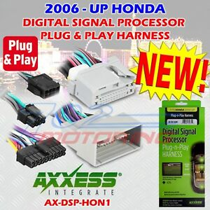 2006 - UP SELECT HONDA AX-DSP-HON1 PLUG-N-PLAY T-HARNESS FOR USE WITH AX-DSP AX-