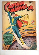 Captain Marvel Jr. #80 Fawcett 1949 SHAZAM! Fine 6.0 Junior Flying over Moon Cov