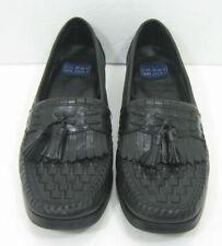 Men's Nunn Bush Black Leather Loafers Size 7 1/2 M Shoes