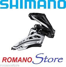 DERAGLIATORE FRONT DERAILLEUR SHIMANO SLX 2x10 SPEED FD-M677-H TIRAGGIO LATERALE