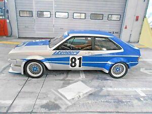 VW Volkswagen Scirocco MKI Zender Gr2 #81 Dittert Racing DRM 1978 Bos 1:18