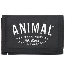 ANIMAL MENS WALLET.NEW SIDETRACK BLACK COIN CREDIT CARD MONEY CASH PURSE 8S 14 2