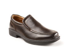 Deerstags GREENPOINT Mens Brown Vega Leather Casual Dress Slip On Shoes