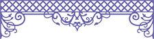 Cheery Lynn Designs Die ~ Lattice Valance Border ~ B406 ~ SALE